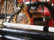 Original equipment on older fire engine