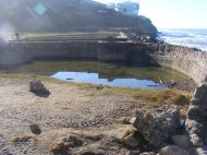 The ruins of the Sutro Baths, in the Golden Gate National Recreation Area
