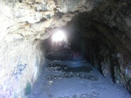 The tunnel under Point Lobos