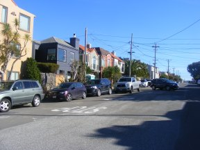 The Outer Richmond District in San Francisco, California