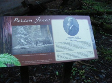 The story of Parson Jones, an early conservationist who helped shape Armstrong Redwoods State Natural Reserve