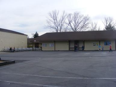 The multi-purpose room at Hidden Valley Elementary School in Santa Rosa, California