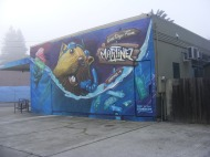 A mural in downtown Martinez, California