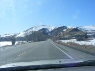 Just west of Neversink Picnic Area (Curecanti National Recreation Area), headed westbound on U.S. 50