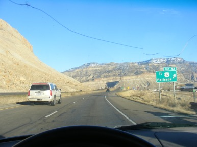 If I wanted to turn back, this would have been the exit off of Interstate 70 I would have used.