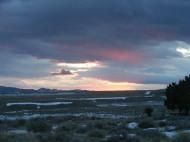 Sunrise over Wyoming